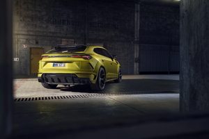 Novitec Lamborghini Urus Esteso 2019 Rear View Wallpaper