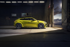 Novitec Lamborghini Urus Esteso 2019 Side View Wallpaper
