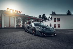 Novitec McLaren 600LT Coupe 2019 4k