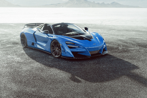 Novitec McLaren 720S Spider N Largo 2020 Wallpaper