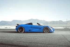 Novitec McLaren 720S Spider N Largo 8k Wallpaper