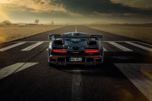 Novitec McLaren Senna 2020 Rear View Wallpaper