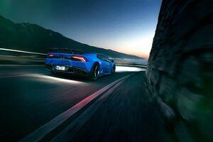 Novitec Torado Lamborghini Huracan 4k Rear