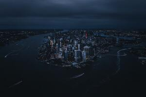 NY United States Above The Big Apple Wallpaper