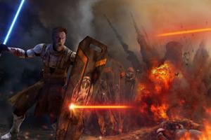 Obi Wan Kenobi Artwork