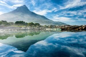 Ocean Reflection Wallpaper