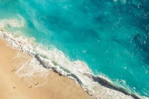 Ocean View From Top Wallpaper