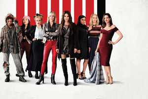 Oceans 8 Movie Hong Kong Poster