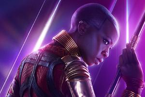 Okoye In Avengers Infinity War New Poster