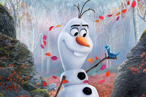 Olaf In Frozen 2 2019