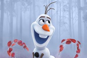 Olaf In Frozen 2 Wallpaper