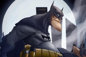 Old Bat Man 4k