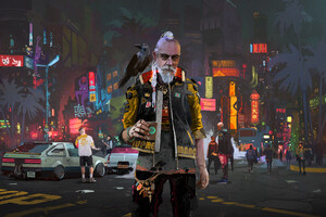 Old People Of Cyberpunk 2077 4k