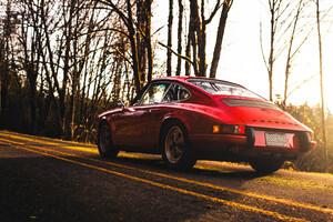 Old Porsche 5k Wallpaper