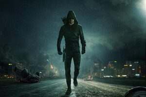 Oliver Queen Arrow Season 6 2017 5k