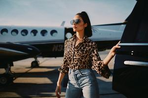 Olivia Culpo Marled X Fall 2018