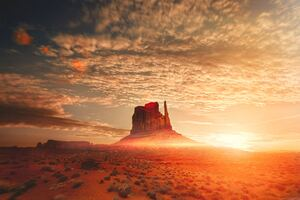 Oljato Monument Valley United States Wallpaper