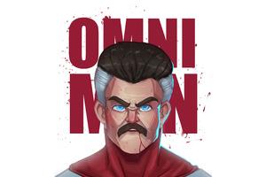 Omni Man Minimal 4k