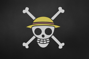 One Piece Anime Skull Wallpaper