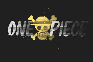 One Piece Minimal 4k Wallpaper
