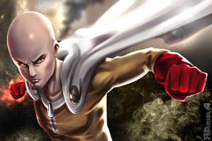 One Punch Man 5k Art