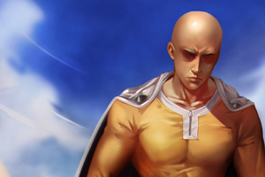 One Punch Man Art 4k