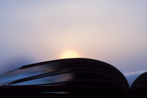 Open Book Sunset Photography Minimalism