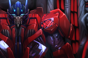 Optimus Prime Fan Art Wallpaper