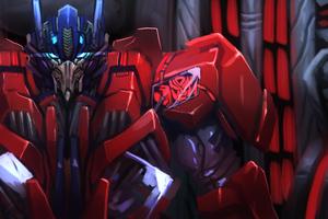 Optimus Prime Fan Art