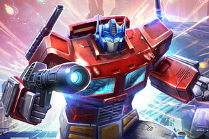 Optimus Prime In Transformers Art