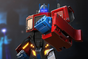 Optimus Prime Transformers Forged To Fight Wallpaper