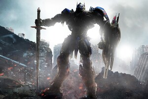Optimus Prime Transformers The Last Knight 4k
