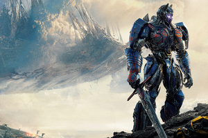 Optimus Prime Transformers The Last Knight 5k Wallpaper