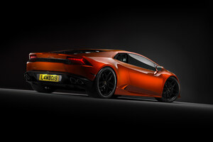Orange Lamborghini 4k New