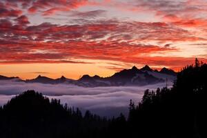 Oregon State Mountains Wallpaper