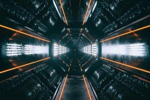 Orirod Space Room Glow 4k Wallpaper
