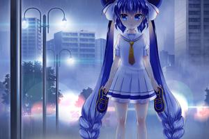 Otomachi Una Rainy Night Vocaloid