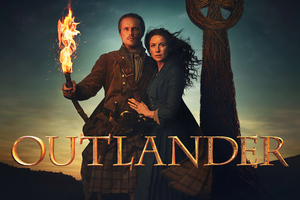 Outlander Amazon Tv Series Wallpaper