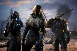 Outriders 3 4k Wallpaper