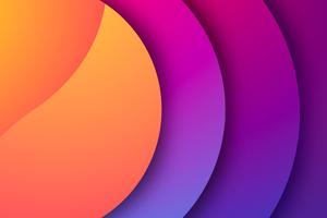 Oval Gradient Shapes 8k Wallpaper
