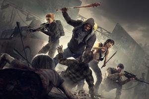 Overkills The Walking Dead 5k Wallpaper