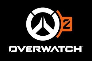 Overwatch 2 Game Logo 5k