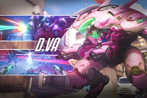 Overwatch D Va HD Wallpaper