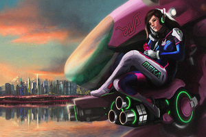 Overwatch Dva Artwork