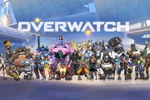 Overwatch Game All Heroes Wallpaper