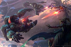 Overwatch Game Art By wangxiaoyu Wallpaper