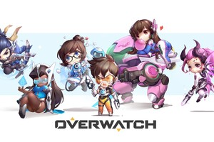 Overwatch Game Artwork 5k Wallpaper