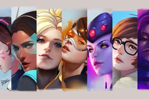 Overwatch Girls 4k Wallpaper