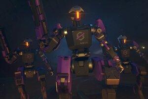Overwatch Null Sector Robots 5k Wallpaper