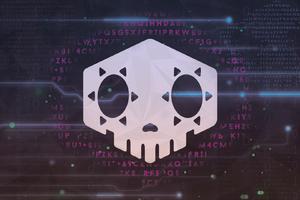 Overwatch Sombra Logo Wallpaper